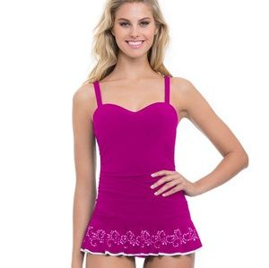 Profile by Gottex Enchantment Magenta swimsuit
